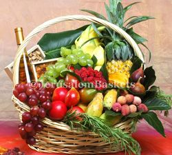 Deluxe Exotic Fruit Basket