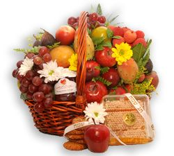 Premium Exotic Fruit Basket