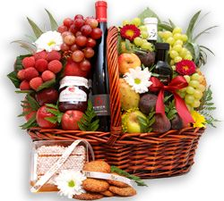 Rosh Hashanah Royal Gift Basket